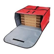Vogue Insulated Pizza Delivery Bag Large